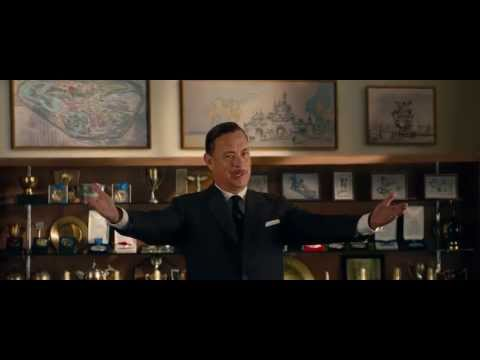 SAVING MR. BANKS Official Officiële Trailer Disney | 1080p Full HD