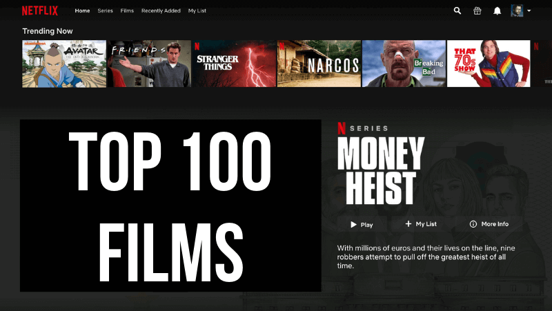 Netflix Top 100 Beste Films