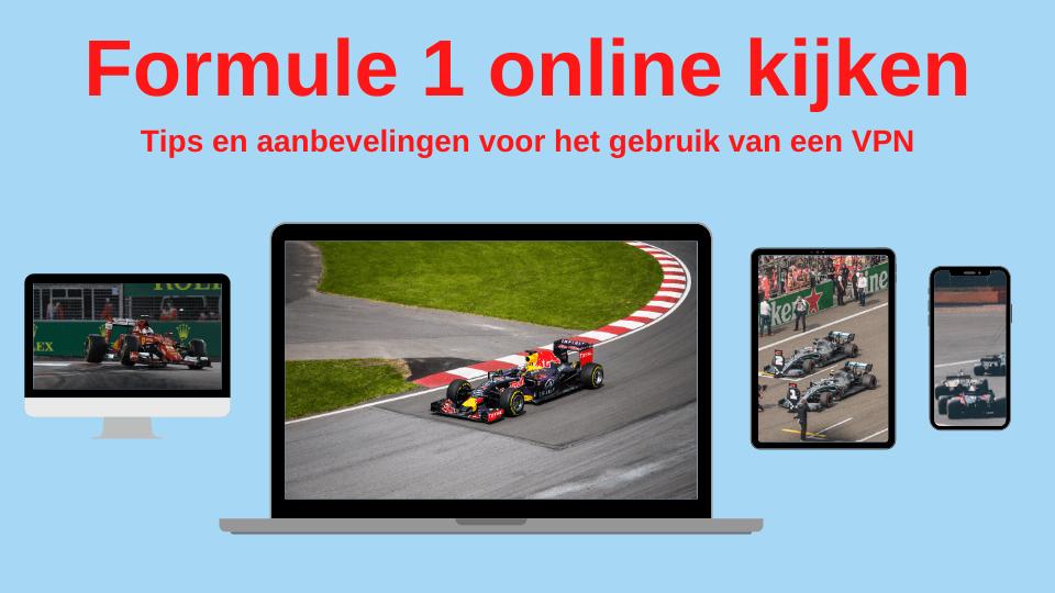 Formule 1 VPN online kijken