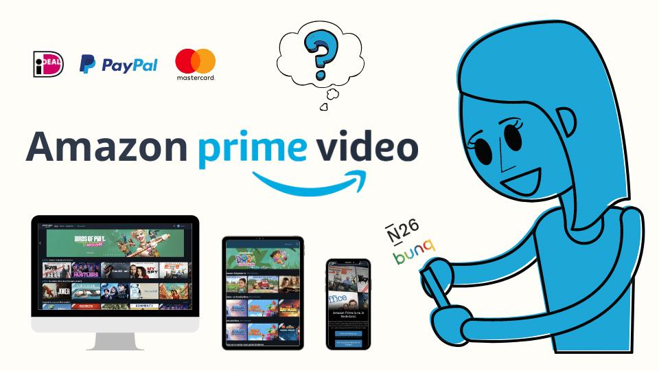 Creditcard Amazon Prime Video betalingsmethode