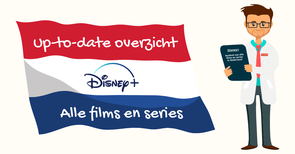 Disney Plus aanbod Nederland films series