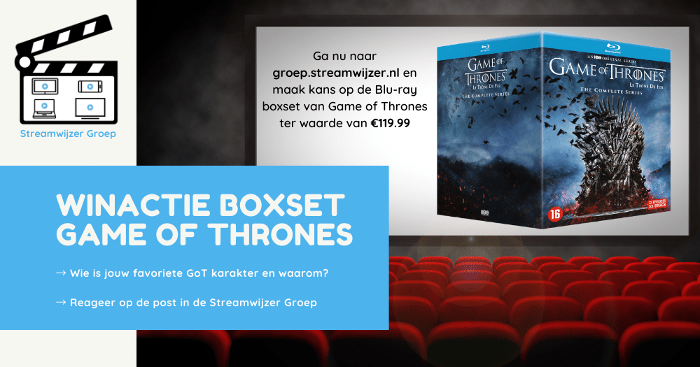 Winactie Game of Thrones boxset Blu-ray