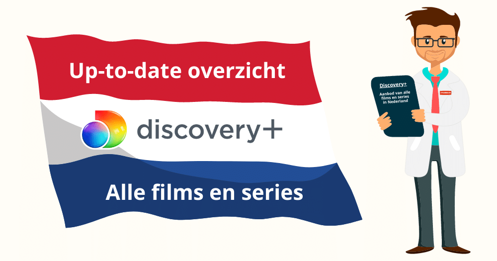 Discovery Plus aanbod films series Nederland