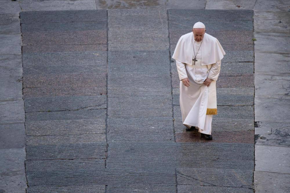 Paus Franciscus (geboren als Jorge Mario Bergoglio)